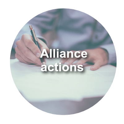 Alliance actions
