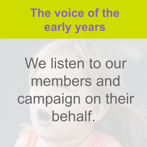 Voice of the early years
