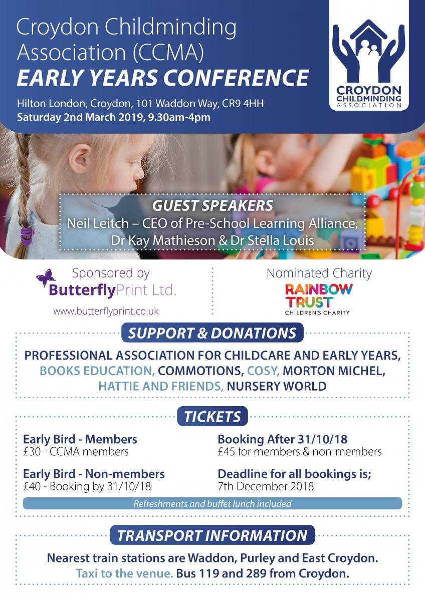 CCMA Early Years Conference