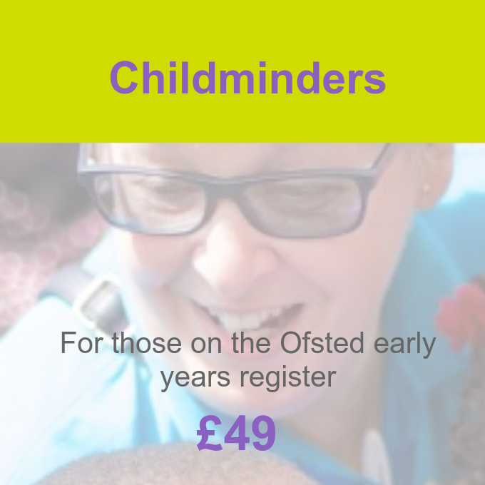 Childminders membership package Pre-school Learning Alliance