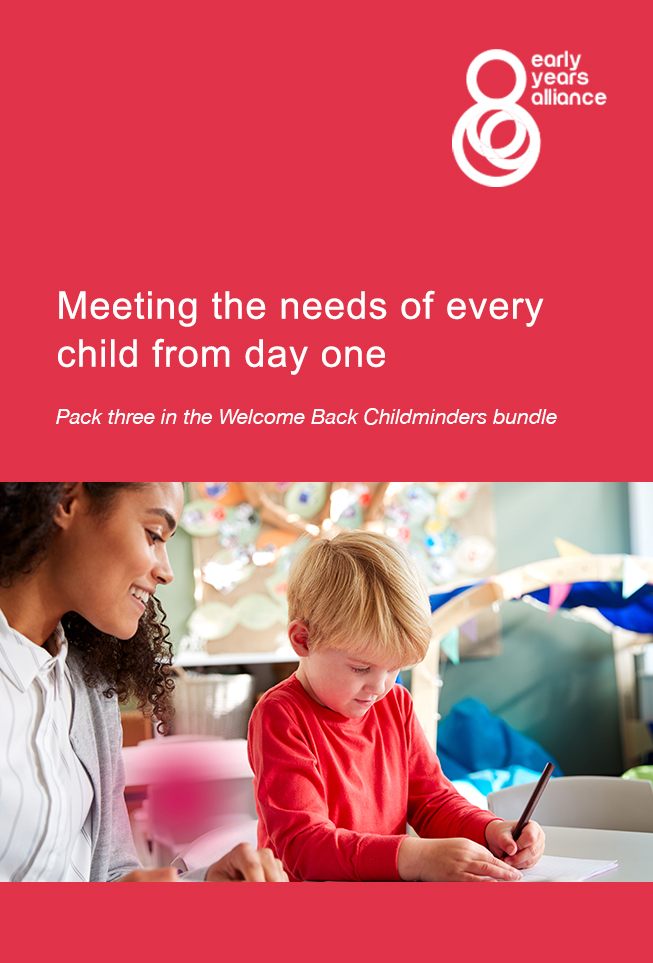 Meeting the needs of every child cover