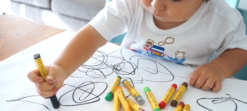 Child colouring