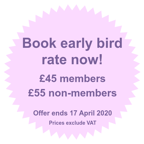 Book at the early bird rate