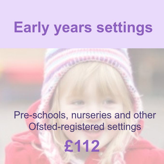 Early years settings membership package Pre-school Learning Alliance