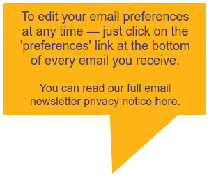 Click here to read enewsletter privacy notice