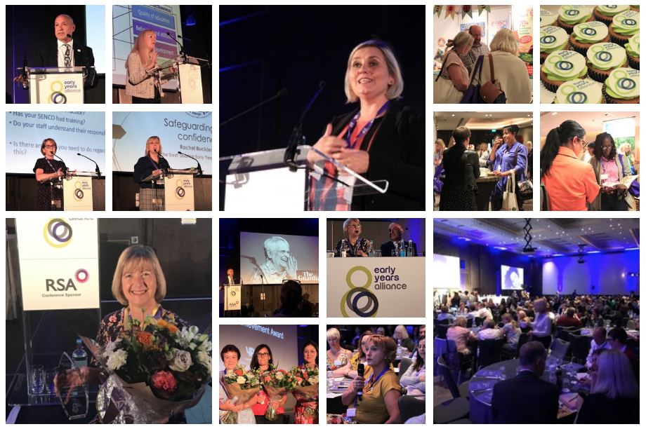 Collage of pictures from Alliance 2019 conference