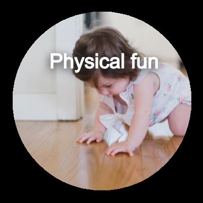 Physical fun button