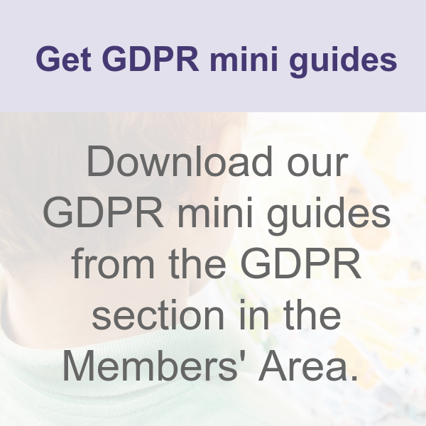 Get GDPR mini guides from Members' Area