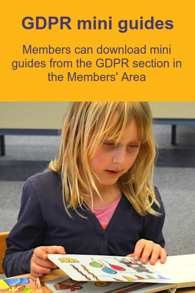 Download GDPR mini guides from Members' Area