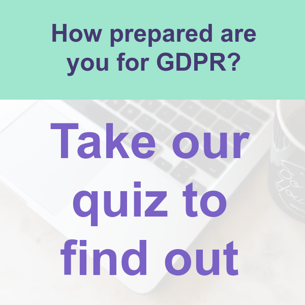 GDPR quiz - how prepared are you?