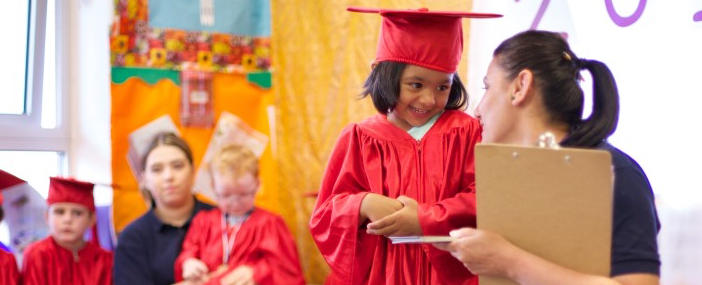Pre-school graduation ceremony