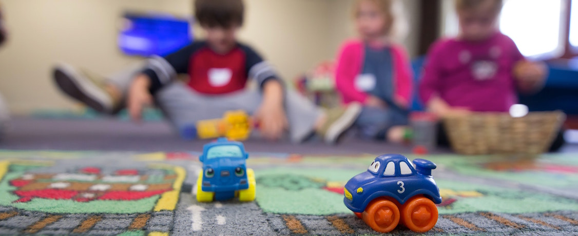 Cars on rug
