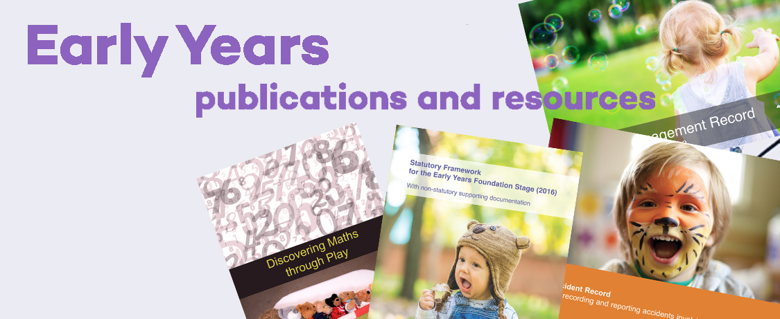 early years publications and resources