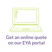 Get a quote on the online portal