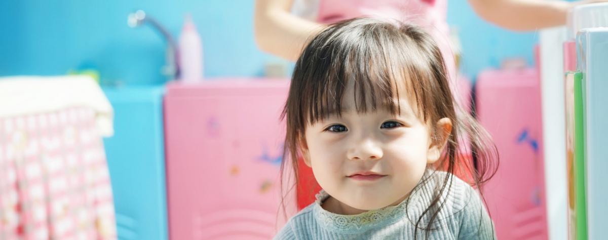 little girl at nursery