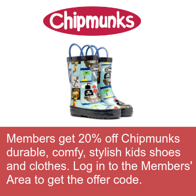 Chipmunks member offer