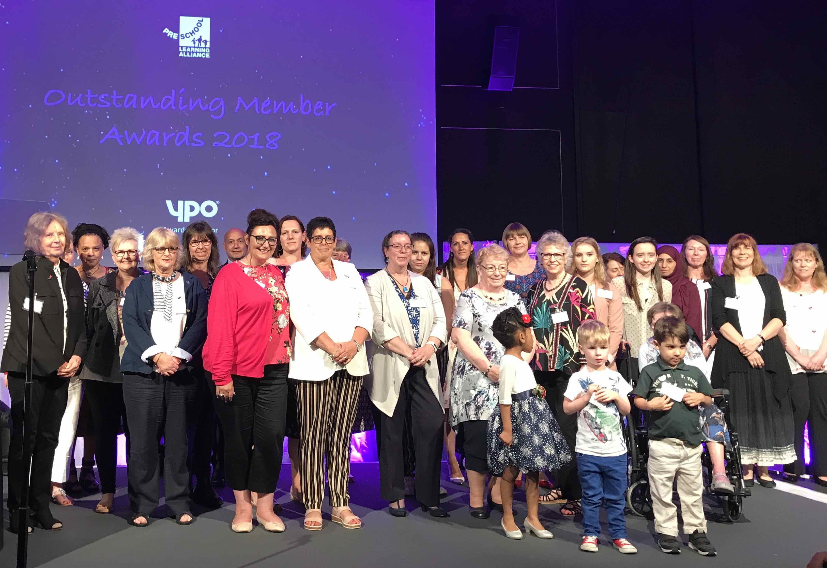 Outstanding Member Awards 2018