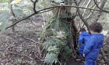 Den building presents many possibilities for mathematics through problem solving