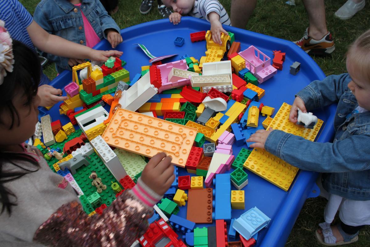 extra large lego tray