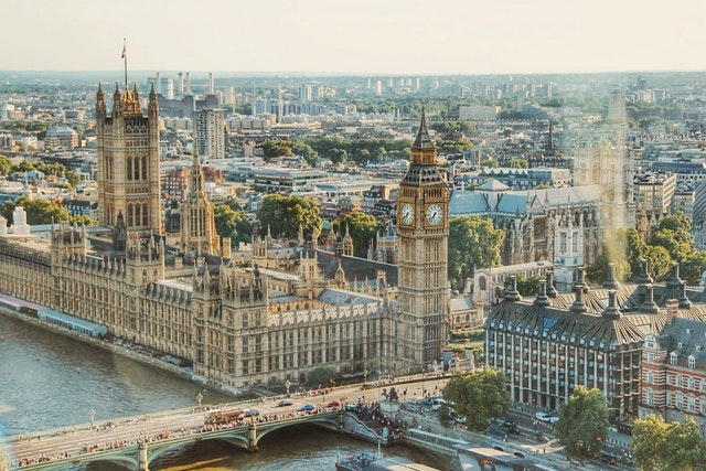 houses of Parliament Queens Speech