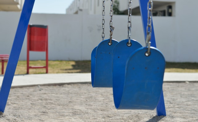 childrens playground swings right to play