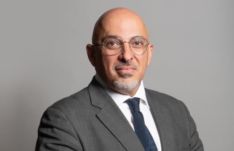 Nadhim Zahawi education minister