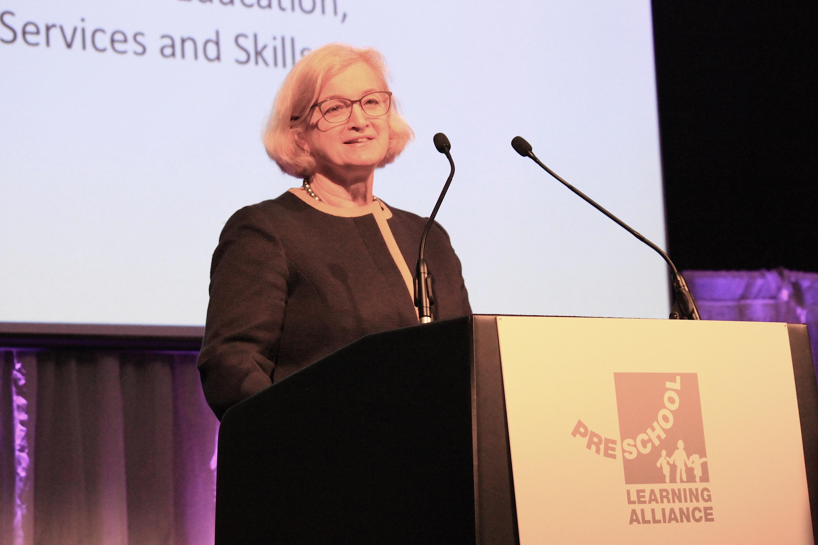 Amanda Spielman speaks at Alliance conference