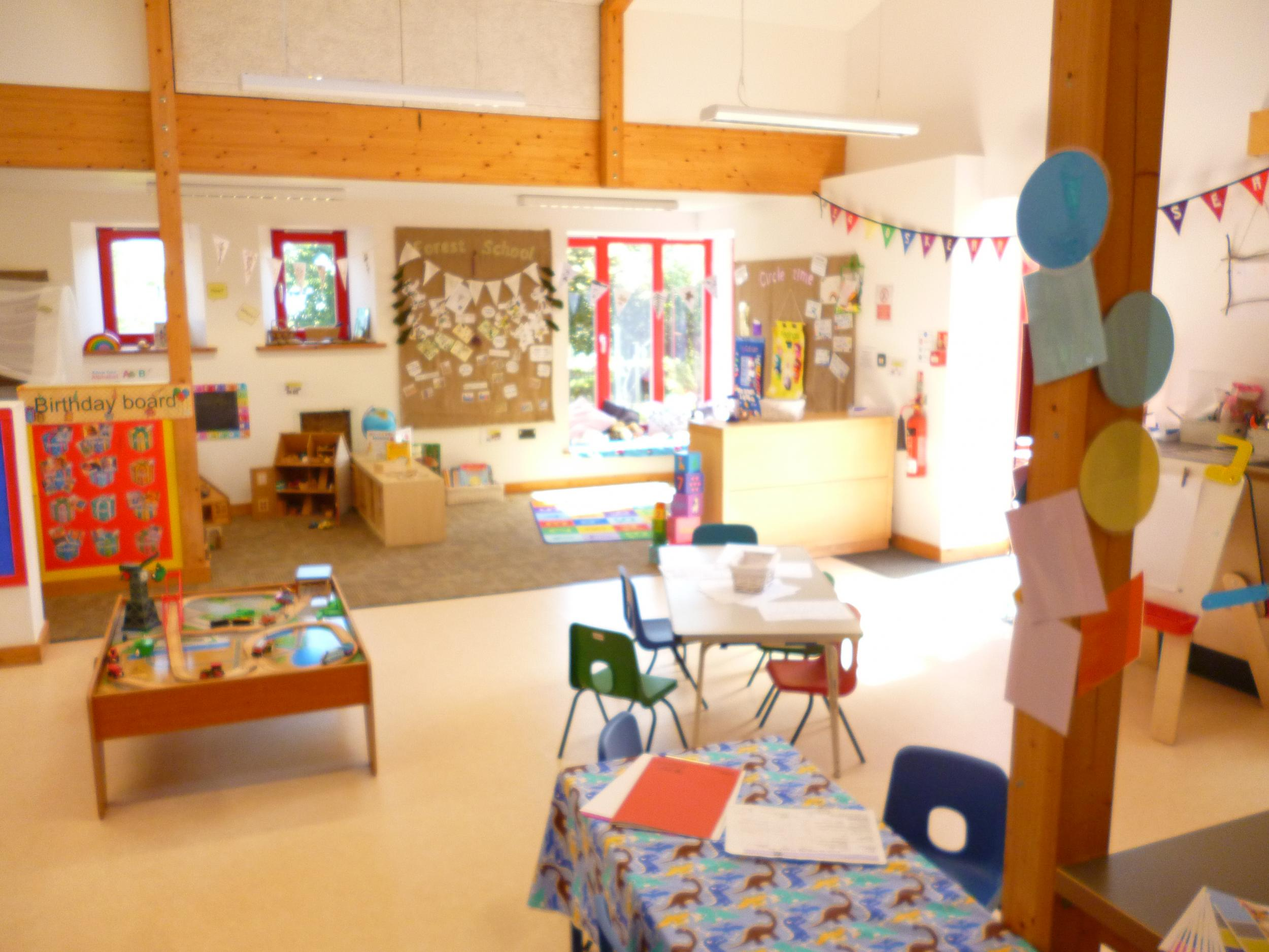A nursery classroom