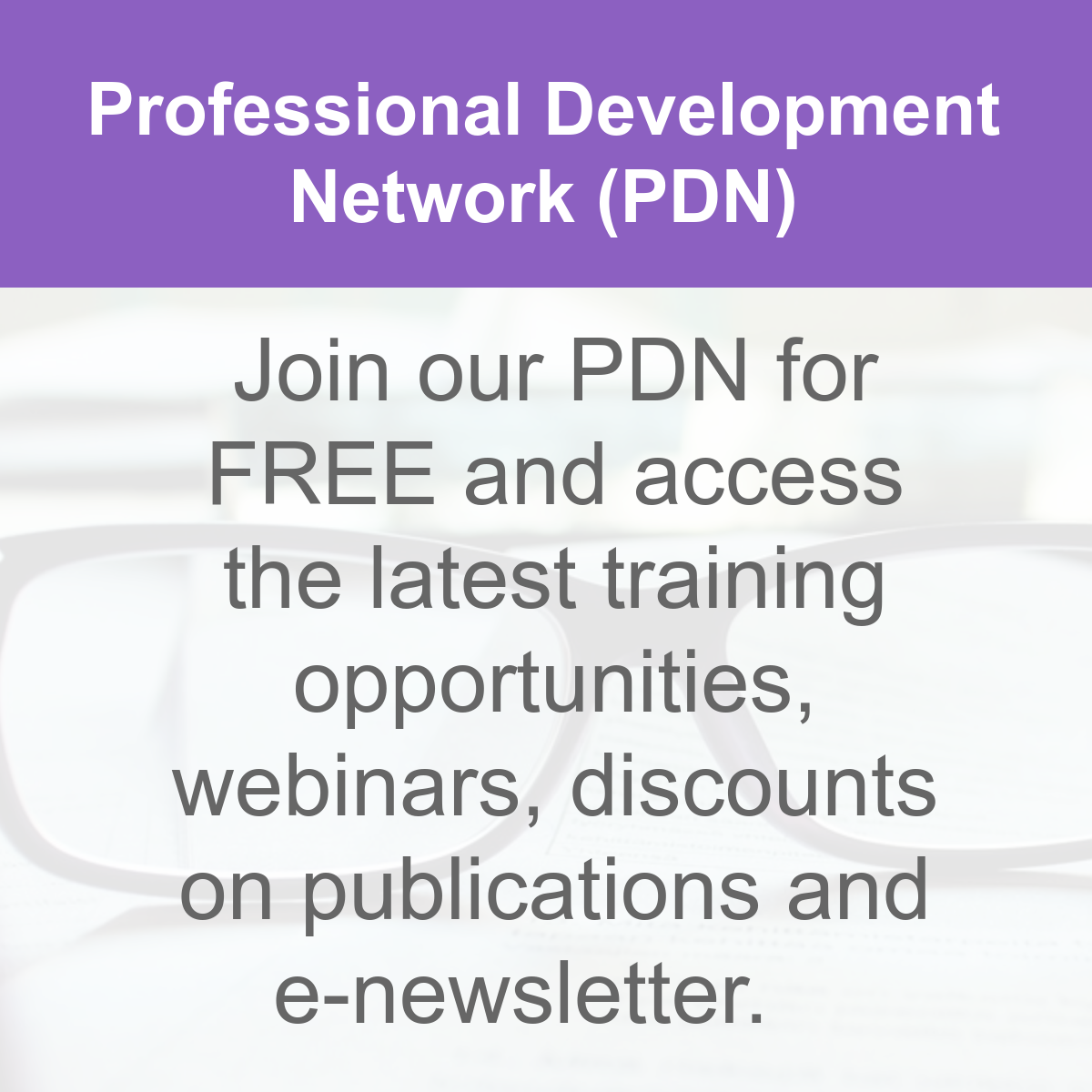 Professional Development Network for early years sector