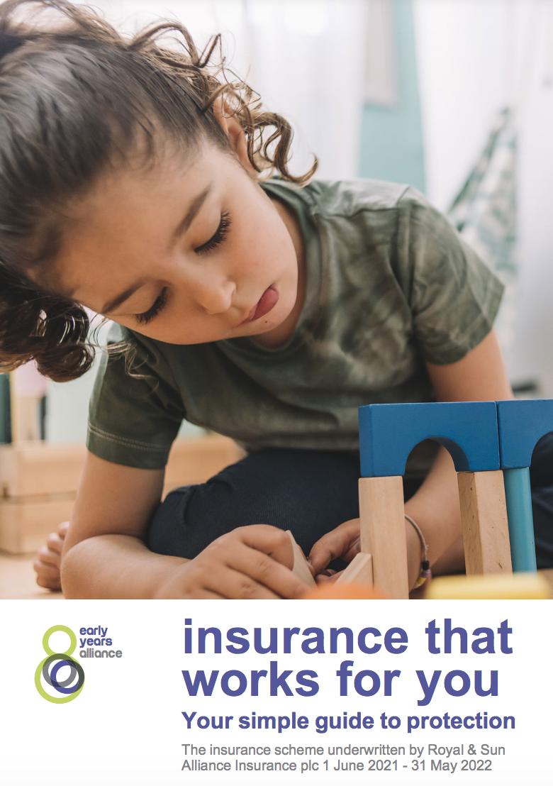 insurance brochure redacted