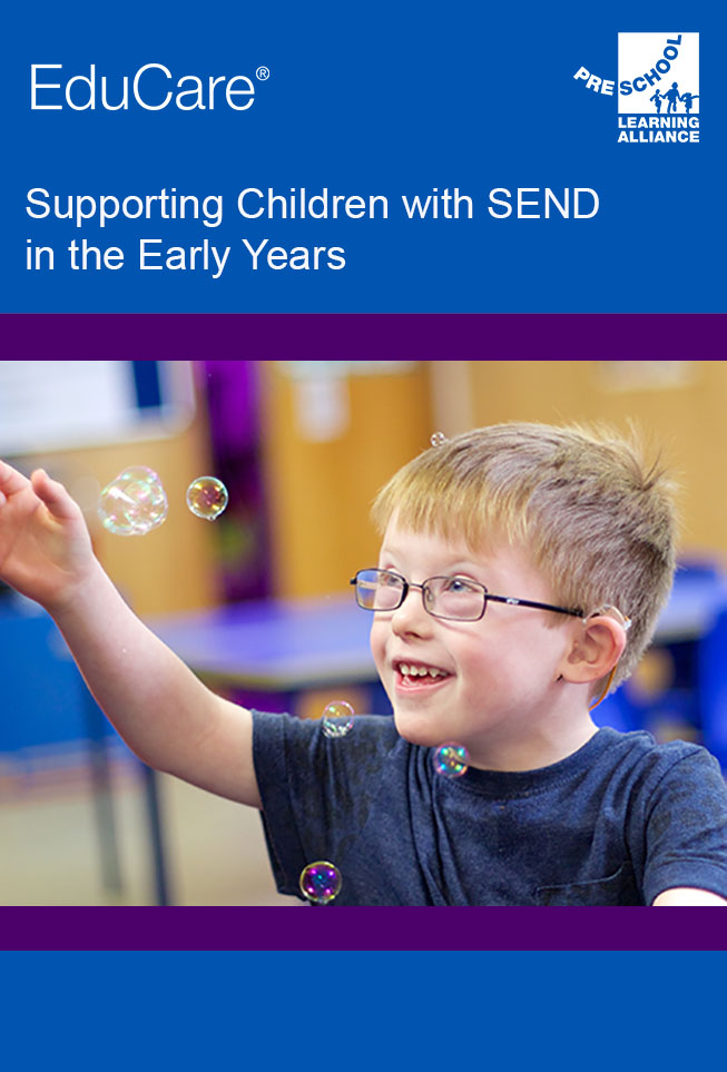 Supporting Children with SEND in the Early Years front cover