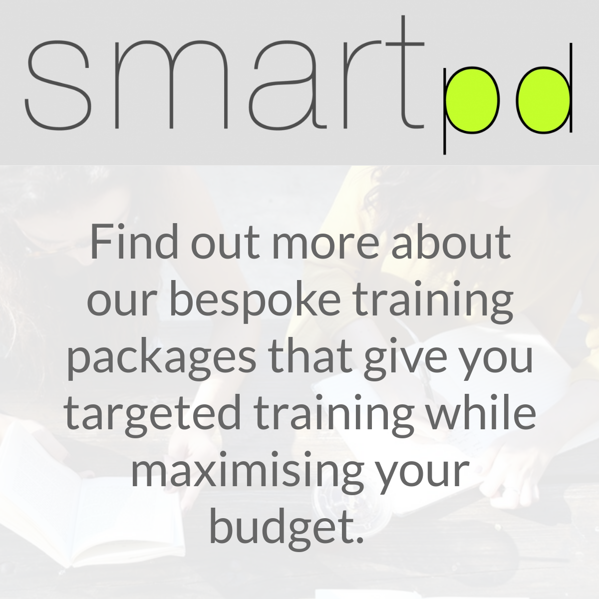 smart pd bespoke training packages for early years sector