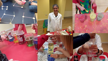 Popular STEM sessions are provided by a 'parent scientist' at the setting
