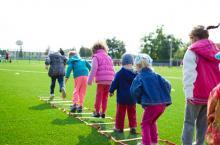 children playing children's centres