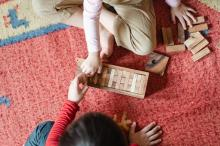 children playing EYFS Reforms