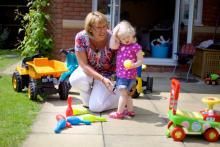 Childminder ratio rules