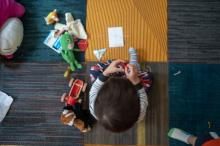 child playing nurseries Labour closure