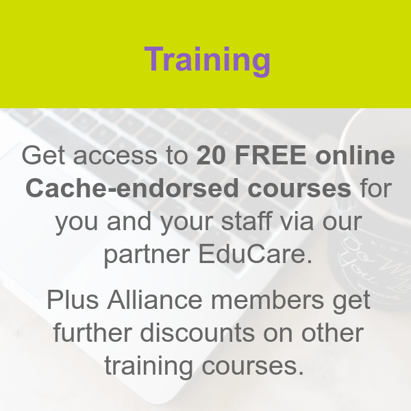 Get online training with Educare