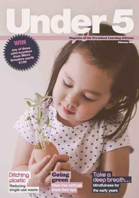 Under 5 magazine cover