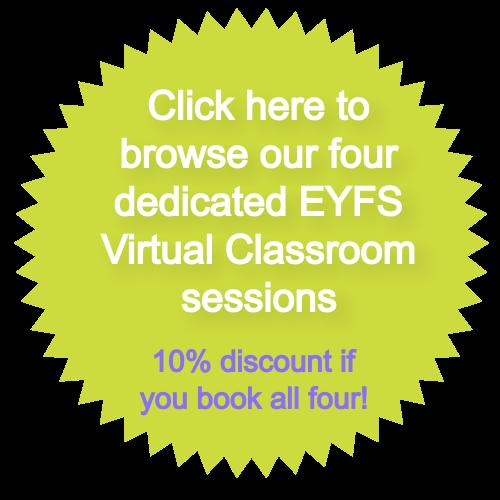 Virtual Classroom EYFS sessions