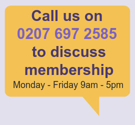 Call 0207 697 2585 to be a member