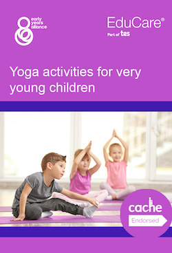 Yoga activities for very young children